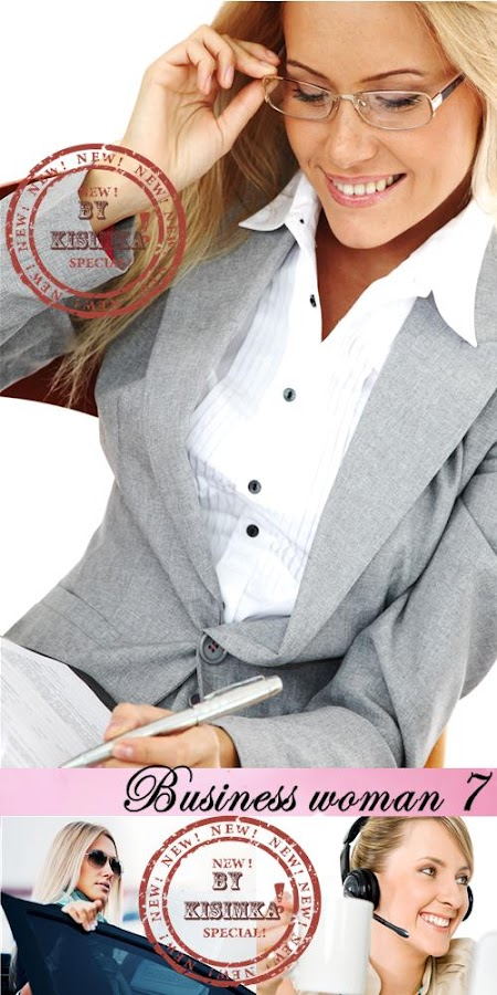 Stock Photo: Business woman 7