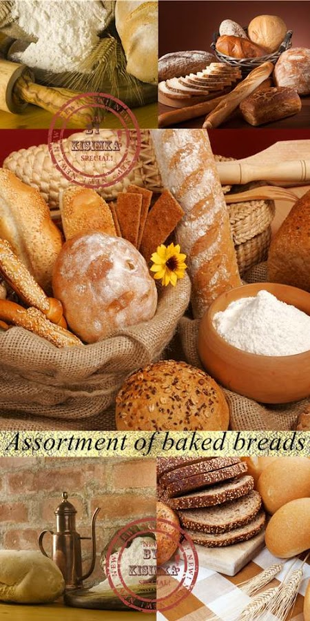 Stock Photo: Assortment of baked breads