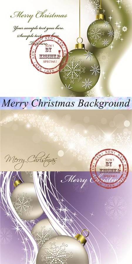 Stock: Merry Christmas Background 5