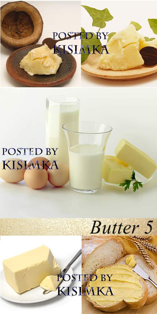 Stock Photo: Butter 5