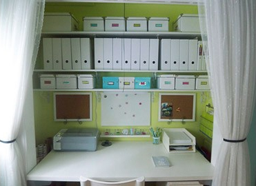 office closets. CasaSugar Has A Gallery Of 10 Closets-turned-offices\u2026 Office Closets O