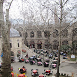 Koza Han interior courtyard