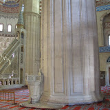 interior, detail of massive column