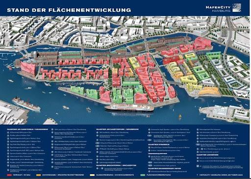 Hafencity Pläne