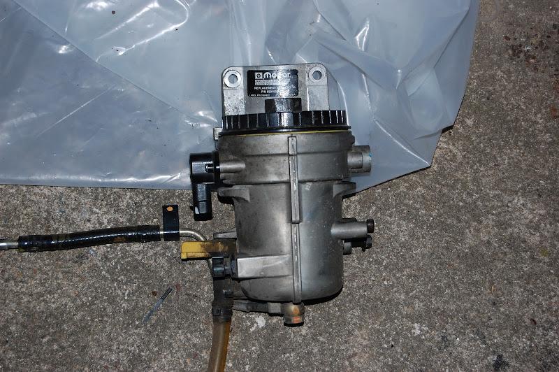 mins Fuel Filter Housing Eliminator