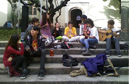 Jóvenes músicos (Tarde de Chacao, Chacao, Caracas, Venezuela)