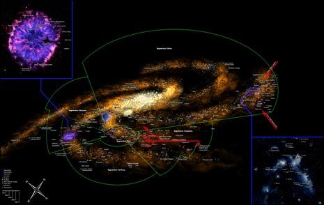 40K Galaxy Map
