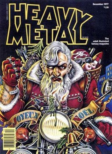Santa heavy