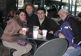 Avec Steve et Maria