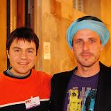 Με τον Chacal από την Πορτογαλία, γνωστό celebrity chef με TV Show στη Γερμανία και εξαιρετικά βιβλία Μαγειρικής.