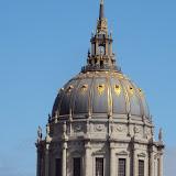 Το Δημαρχείο του San Francisco με το Χρυσό στη σκεπή.