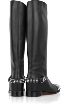 christian louboutin - Egoutina studded leather boots - 975