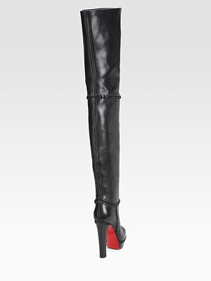 CHRISTIAN LOUBOUTIN - Tres Contente Thigh-High Boots - 2020