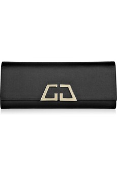 gucci - satin clutch - 390