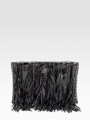 Prada - Vitello Shine Clutch - 1212