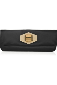 Lanvin - Ultra Pop satin clutch - 1000