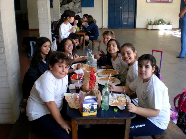 2010 – 3°Ano – Horário de almoço – Treino de Handbol e Futsal