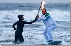 Surfing torch