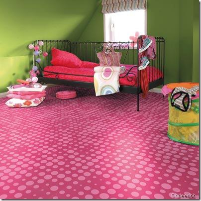 pink floor ohdeedoh