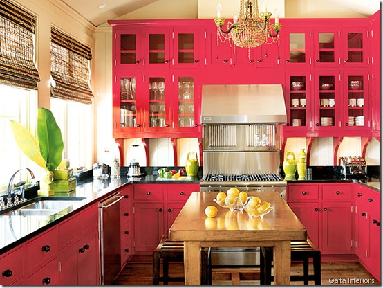 rexotic-red-kitchen-interior-design gaita interiors