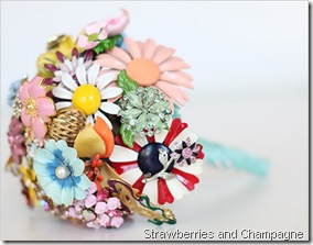 brooch_wedding_boquet strawberries and champagne