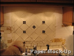 Backsplash Mock-up