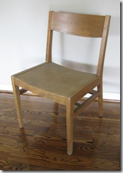 TYH before chair