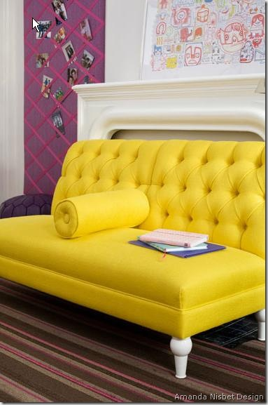 amanda nisbet yellow sofa