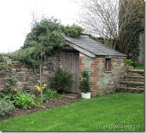 garden shed large old gwerny fed