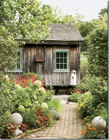 garden shed country living 2