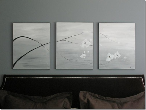 art above bed