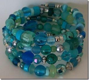mary maureen memory bracelet crystal crescent