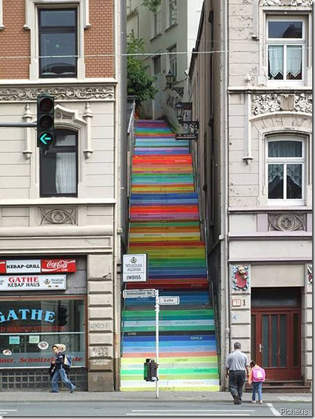 colourful stairs pichaus