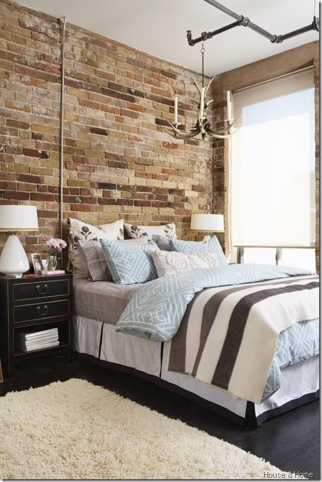 brick bedroom houseandhome