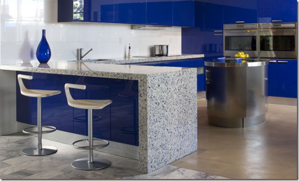 chivalry blue kitchen counter 2