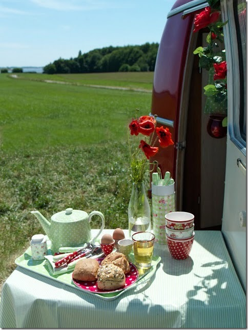 picnic red and green passion for decor