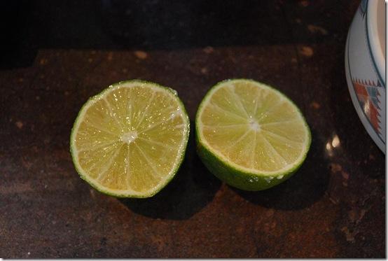 20 lime cut