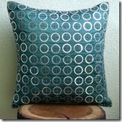 teal cushion etsy thehomecentric