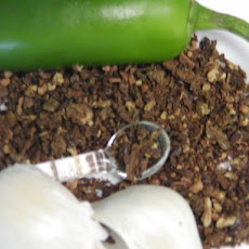 Oven Dried Jalapeno Peppers and Garlic powder