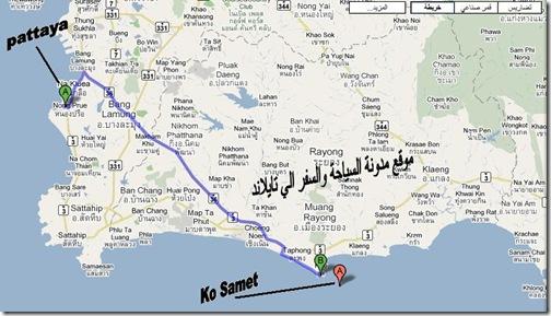 خريطة جزيرة كوسميت