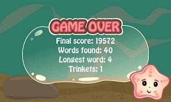 Screenshot of Spelling Sea Word Game