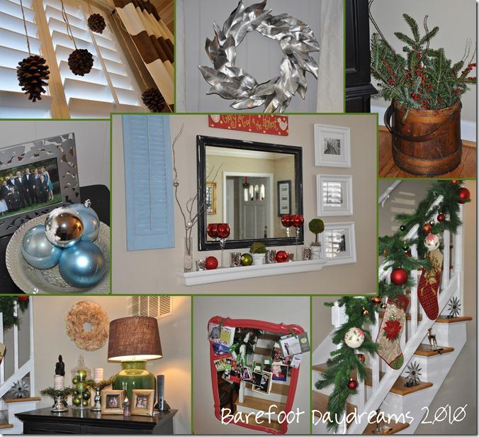 Christmas tour collage