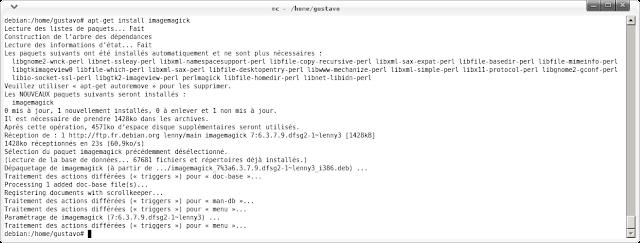 En una Ubuntu, normalmente es: sudo apt-get install imagemagick