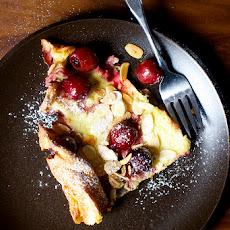 Cherry Almond Dutch Baby Recipe | Yummly