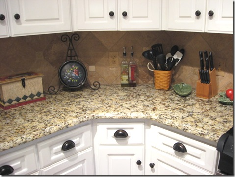Granite In The Kitchen Southern Hospitality