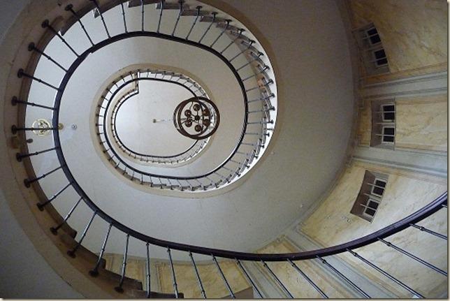 Escalier de Vidocq galerie Vivienne