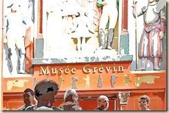 Façade du Musée Grévin