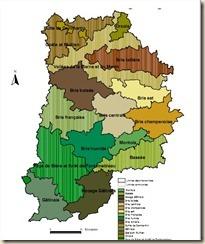cartographie des régions agricoles 77