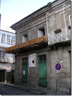 Proxecto de Albergue de Peregrinos en Betanzos - Estado das obras a novembro de 2009