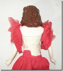Gone with the Wind Doll Back